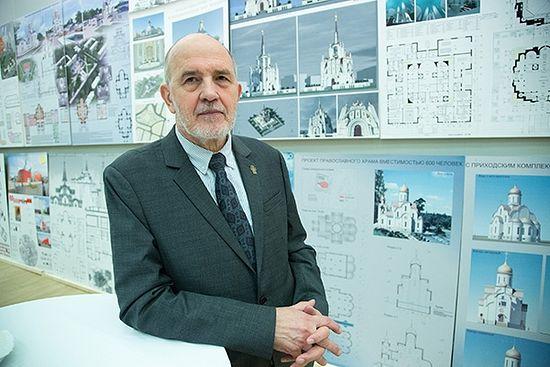 Архитектор Михаил Кеслер. Фото: Алексей Совертков/«Русская планета»