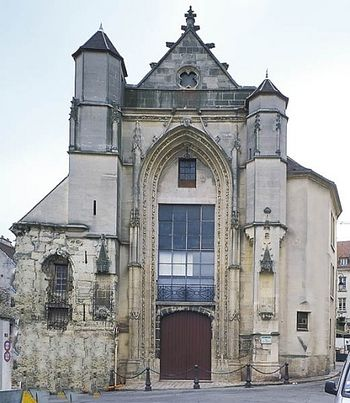 Church of St. Fursey in Lagny-sur-Marne, France