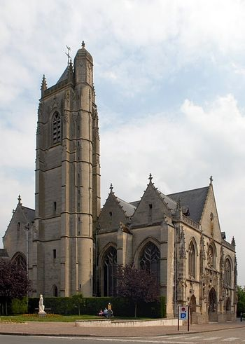 Church of St. John the Baptist in Peronne, France (photo by Michael Krier)