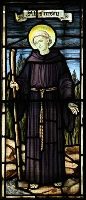 Saint Fursey Dmitry Lapa Saint Fursey of Ireland