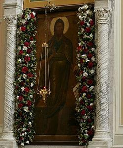 Древняя чудотворная икона св. Пророка, Предтечи и Крестителя Господня Иоанна