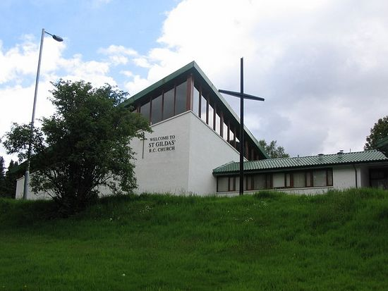 Catholic Church of St. Gildas, Rosneath, Scotland
