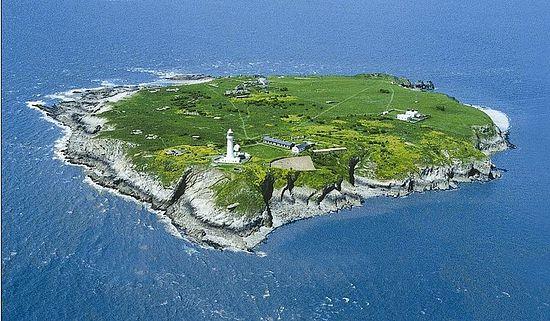 Flatholm island, Wales