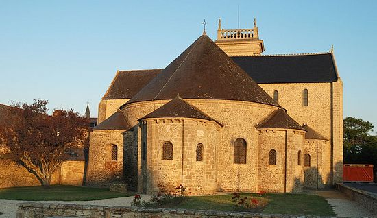 Abbey Church of St. Gildas in Saint-Gildas-de-Rhuys
