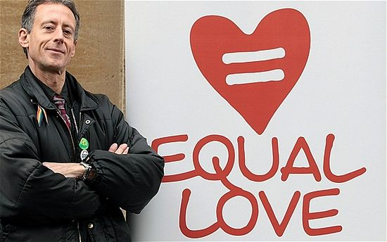 Peter Tatchell Photo: GETTY