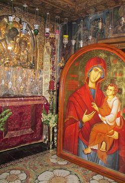 Список «Скоропослушницы», написанный для Ионинского монастыря