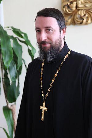 Священник Кирилл Краснощеков