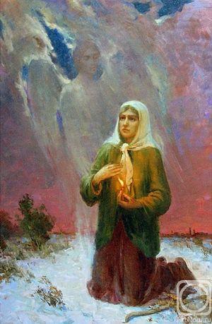 N.Komarov. St. Xenia of St. Petersburg
