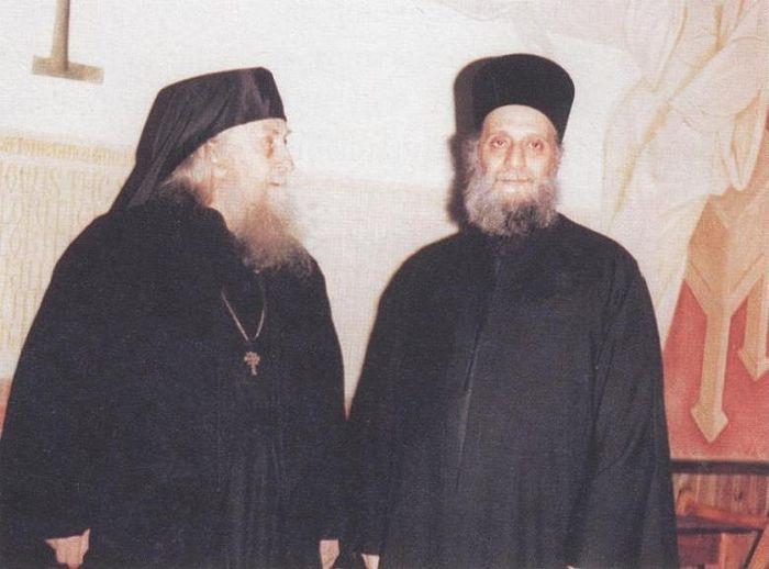 Старцы Софроний (Сахаров) и Эмилиан (Вафидис)