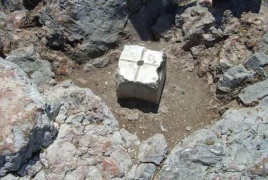 Фрагмент плиты Ареопага