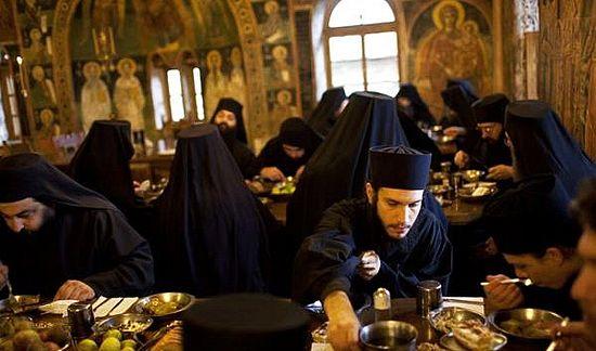 Православные монахи на Афоне. Фото: simvol-veri.ru