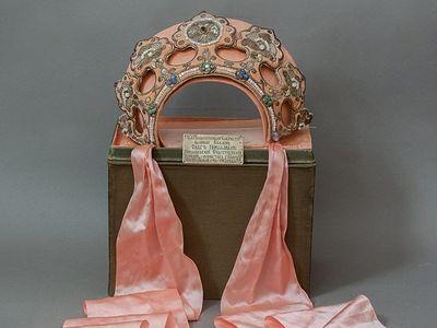 Restored Kokoshnik of Grand Duchess Olga Nikolaevna
