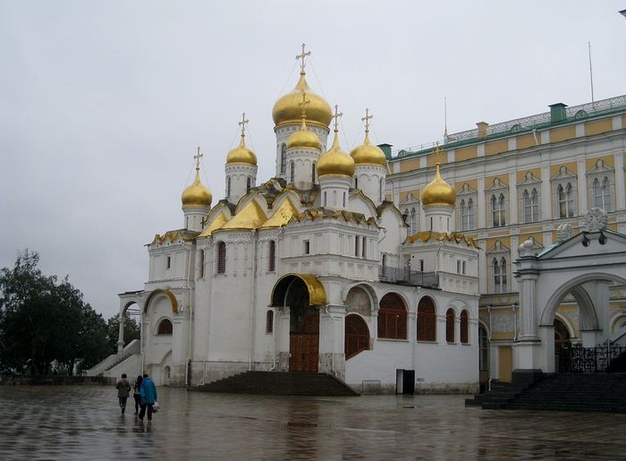Annunciation Cathedral, Moscow Kremlin.