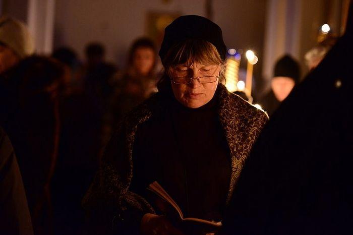 Чтение Великого покаянного канона в храмах Южно-Сахалинска
