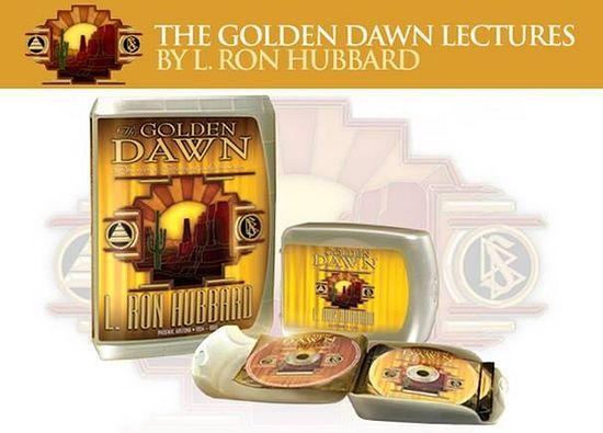Аудио-видео издање Хабардових дела «Golden Dawn» («Златна зора»)
