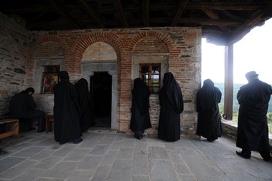 Молитва афонских монахов