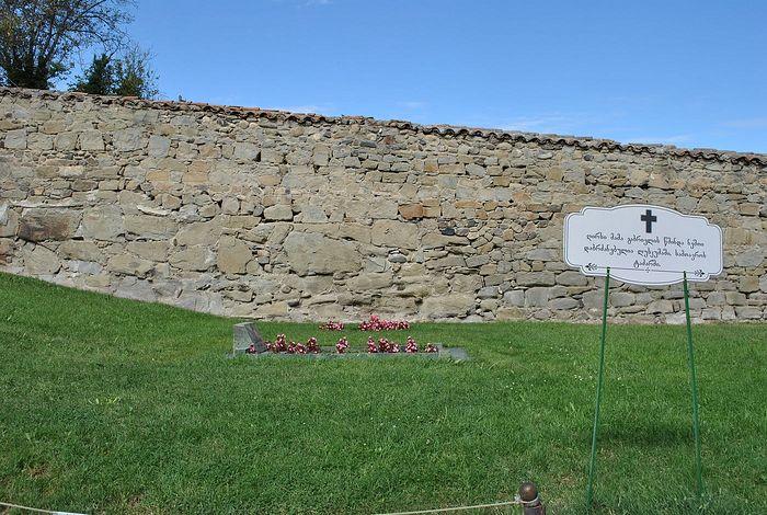 Место, где находилась могила старца Гавриила