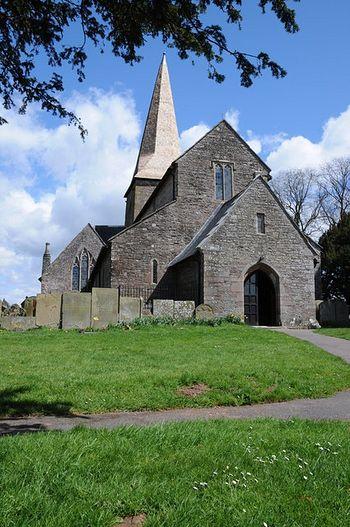 St. Teilo's Church in Llantilio Crossenny(photo by Philip Halling)