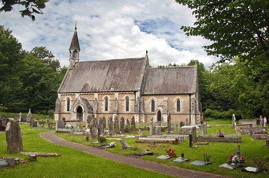 St. Teilo's Church in Merthyr Mawr (photo by Mick Lobb)