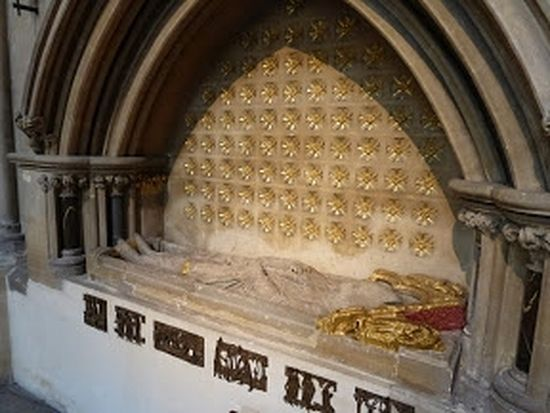 Tomb of St. Teilo at Llandaff Cathedral