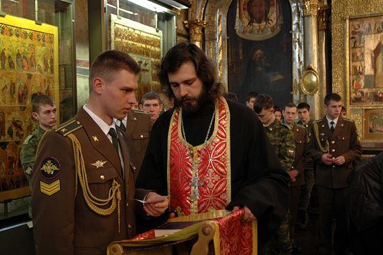 Свештеник Алексије Јаковљев. Фото: Патриархија.Ru