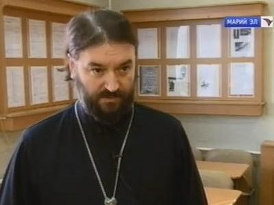 Протоиерей Андрей Ткачёв в Йошкар-Оле