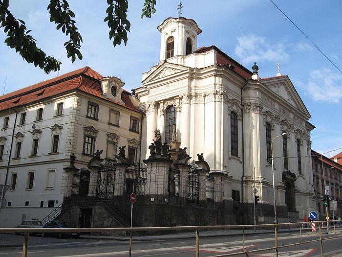 Пражская Епархия. Кафедральный собор свв. Кирилла и Мефодия