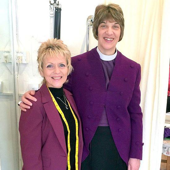 Джули Тернер (слева) с епископом Рейчел, Фото: GNS