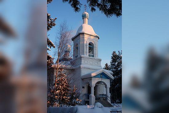 Храм Всех Святых был построен в Яренске в 1863 году