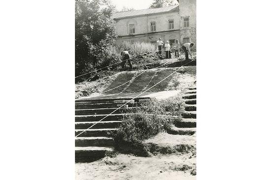 Восстановление Оптины 1960-е г