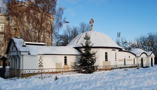 Рождества Пресвятой Богородицы Десятинный монастырь