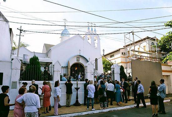 Храм Покрова Пресвятой Богородицы в столице Парагвая Асунсьон