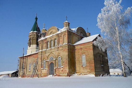 Храм Рождества Христова в селе Шовское. Фото: agionoros.ru
