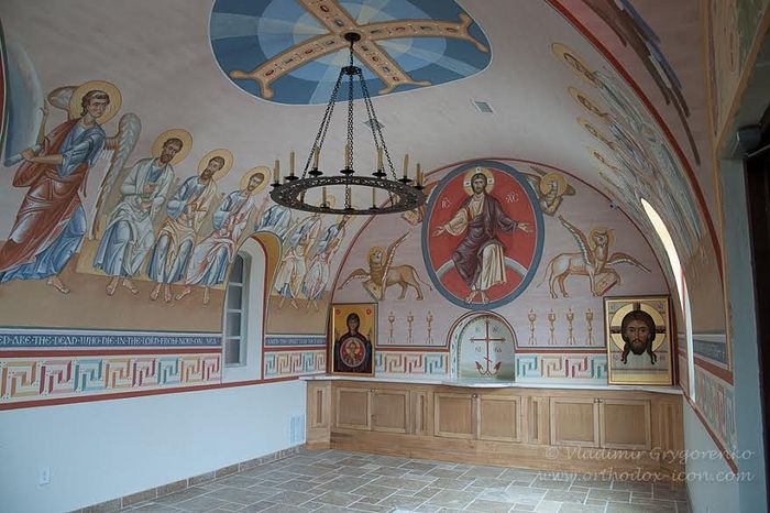 Archbishop Dmitri was reinterred in the recently constructed Memorial Chapel at Dallas' St. Seraphim Cathedral.
