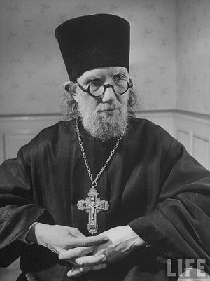 Archpriest George Florovsky.