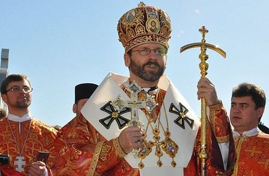 Archbishop Svyatoslav of the Ukrainian Uniate Church
