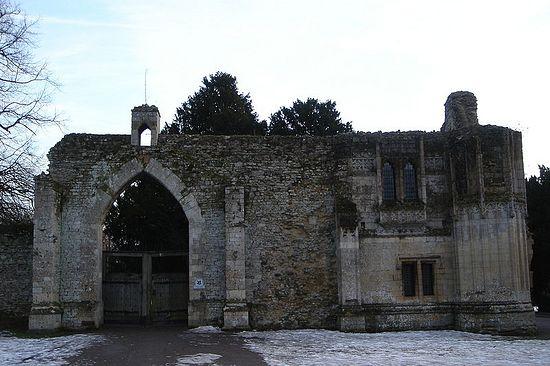 Former Ramsey Abbey's gatehouse, Cambridgeshire