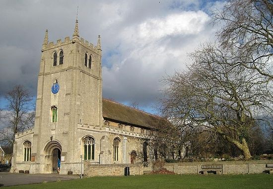Ramsey parish church (formerly belonged to the abbey), Cambridgeshire