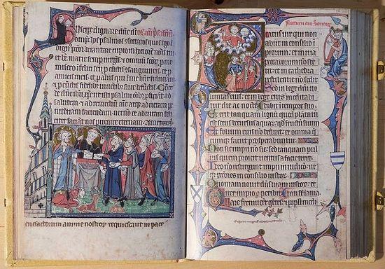 Ramsey Psalter (early 14th century)