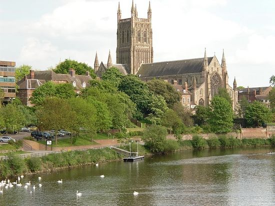 Worcester Cathedral (Photo by Irina Lapa)