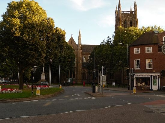 Worcester Cathedral, one of the most interesting English cathedrals (photo by Irina Lapa)