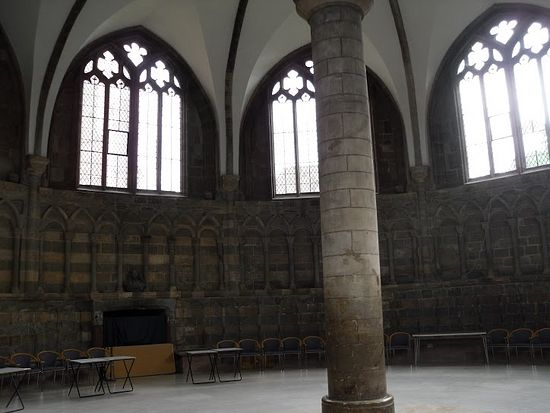 Worcester Cathedral's chapter house (photo by Irina Lapa)