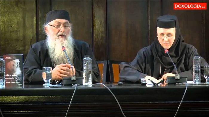 Выступление архимандрита Захарии (Захару)