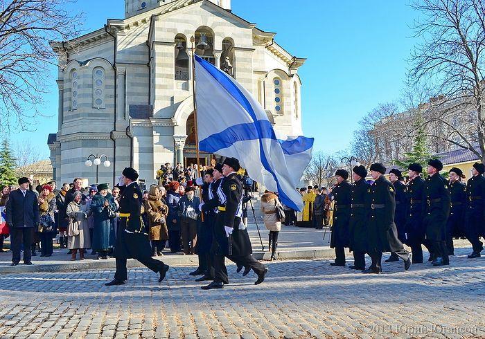 Крым встречает Годеновский крест