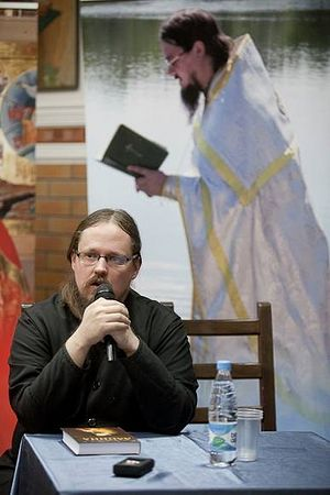 Fr. George remembering the martyred Fr. Daniel Sysoev