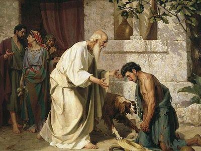 Притча о блудном сыне - это вся история человечества