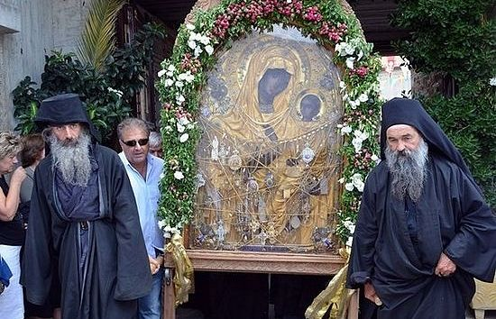 Афонская икона Божией Матери «Скоропослушница»