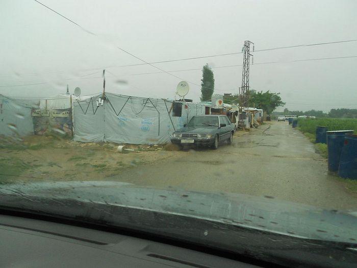 Сирийские палаточные лагеря беженцев, долина Бекаа