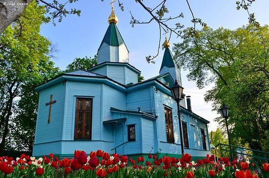 Макариевский храм. Киев