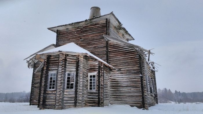 Храм святителя Николая Чудотворца в Архангельской области